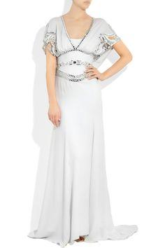 Temperley London  Embellished silk-crepe gown  $4945