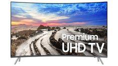 """Useful detail"" Samsung UN55MU8500FXZA Curved 4K Ultra HD Smart LED TV"