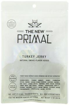 Amazon.com: The New Primal Turkey Jerky, 2.0 Ounce