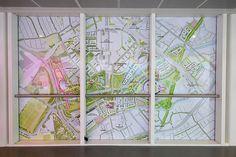 Park in Progress Tour - window graphic map