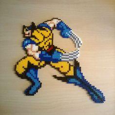 Wolverine perler beads by  h3xa6ram