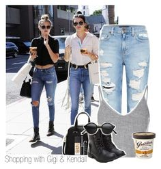 """Shopping with Gigi & Kendall"" by thebestofhemmings ❤ liked on Polyvore featuring мода, Genetic Denim, Glamorous, Furla, NARS Cosmetics, kendalljenner и gigihadid"