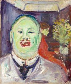 "terminusantequem: ""Edvard Munch (Norwegian, Caricature Portrait of Henrik Lund, Oil on canvas "" Edvard Munch, Mary Cassatt, Pierre Auguste Renoir, Edouard Manet, Camille Pissarro, Edgar Degas, Mark Rothko, Lund, Oslo"