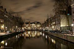 Amsterdam by night by Fabio Pudilli on 500px