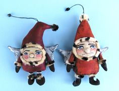 frowning francis gnome ornaments