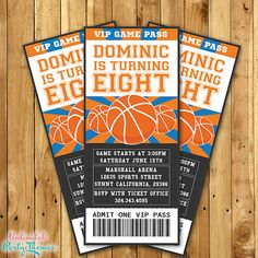 Basketball Invitation / Basketball Party by UnlimitedPartyThemes, $16.99
