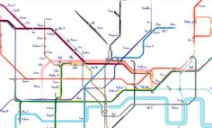 London Underground Seating Plan