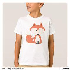 Cute Fox T-Shirt April 11 2017 #spring #junkydotcom 3x