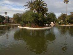 Lac artificiel au Jardin Public d'Oran