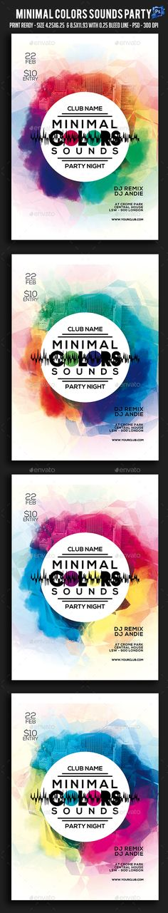 Summer Party Flyer Party flyer, Flyers and Party events - advertisement flyer template