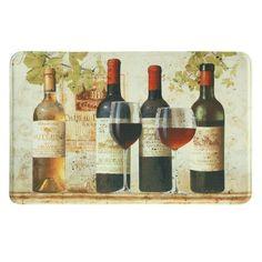 Bacova Standsoft Wine Tasting Memory Foam Indoor Kitchen Mat - 78773