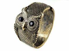 Personality Huge Big Owl Bronze Cuff Bangle Bracelet Jewelry imixlot. $6.99