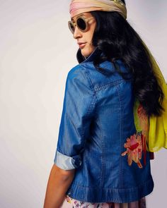 Lively, bright and radiantly beautiful: our MIAMI VICE collection serves up a sparkling style cocktail for high spirits in summer. Miami Vice, Fashion Women, Cocktail, Spring Summer, Bright, Denim, Jackets, Beautiful, Collection