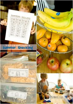 Tips for helping the kids not overeat in the summer