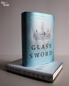 Epic Reads (@epicreads) Glass Sword and Red Queen hardcovers by Victoria Aveyard