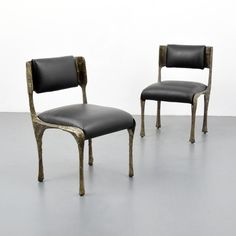 Pair of Paul Evans Dining/Side Chairs