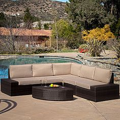 jcp | Santa Cruz 6-pc. Outdoor Wicker Sectional