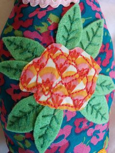 Matroyska - close up flower