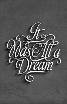 Biggie • It was all a dream