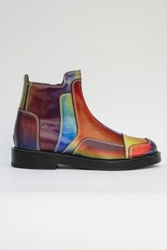 JUUN.J Rainbow Runway Boot