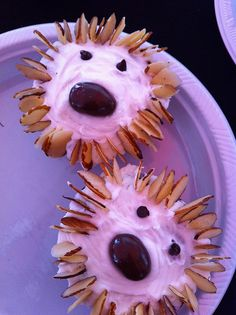 Hedgehog cupcakes from 2011's Gardiner Cupcake Festival.