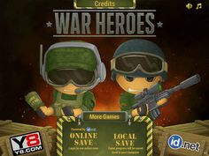 Play a new great tower defense game - War Heroes, and don't let the enemie soldiers to destroy your base. Games For Boys, More Games, Defense Games, Tower Defense, Strategy Games, Arcade Games, Play, Fictional Characters, Watch