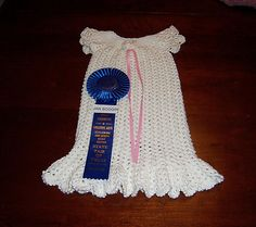 Ravelry: Wrynnes Another vintage christening gown