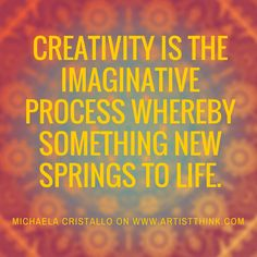 Michaela Cristallo | artist interview | artist quotes | Creativity quotes | quotes for artists | free art lessons | artist strong