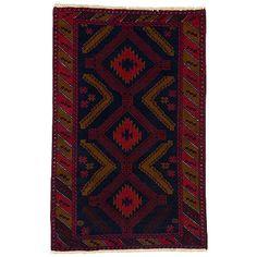 Beludj Kundi - csomózott afgán szőnyeg - O 55394.11