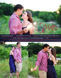 Dallas, Fort Worth Couples, Engagement Photographer * Fourth of July Mini Sessions | Laura Veno Photography
