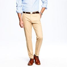 Ludlow classic suit pant in Italian chino. $158