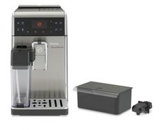 Philips Saeco Gran Baristo One Touch Superautomatic Espresso Machine - Automatic Espresso Machine, Espresso Coffee Machine, Coffee Maker, Coffee Geek, Coffee Lovers, Burr Coffee Grinder, Spiced Coffee, Great Coffee, Barista