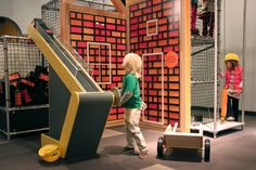 Building Buddies - Oklahoma Museum Network (via toboggan design)
