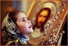 A girl at church on Palm Sunday in Russia. Beautiful Children, How Beautiful, Precious Children, Regina Coeli, Orthodox Easter, Russian Orthodox, Palm Sunday, Orthodox Christianity, Orthodox Prayers