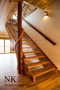 Best Live Edge Tread Stair By Nk Woodworking You Can Find 400 x 300