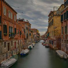 Venice Street - A forgotten photo from my first Venice visit...