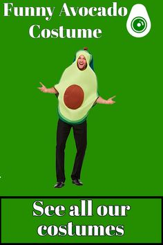 Frankenstein, Funny Costumes, Halloween Costumes, Avocado Costume, A Funny, Range, Suit, Store, Life