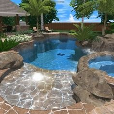 Tropical Pool Design