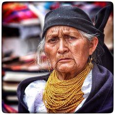 Mujer otavaleña.