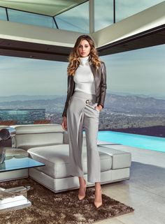 Marciano Fall '16 Campaign feat. Belén Rodríguez shot by Joseph Cardo