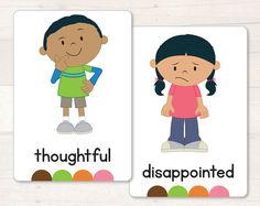 Emotions - Full Body - Flash Cards AUTOMATIC DOWNLOAD