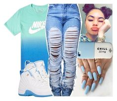 """"" by daeethakidd ❤ liked on Polyvore featuring NIKE"