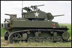 U.S. M5 Light Tank