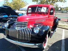 1946 Chevy Pickup. I had one just like this. Wish I had it back.
