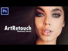 Photoshop CC Художественная обработка портретов 1 часть - YouTube
