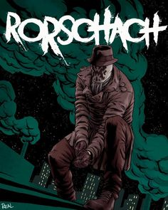 Rorschach by JoseRealArt on DeviantArt Comic Book Characters, Comic Books Art, Fictional Characters, Dc Comics Superheroes, Marvel Heroes, Artwork Images, Cool Artwork, How To Draw Muscles, Rogue Comics