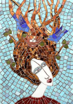 Birds In Hair - Irina Charney