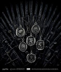 Game of Thrones jewellery line :: Fashion news | See more about game of thrones, games and news.