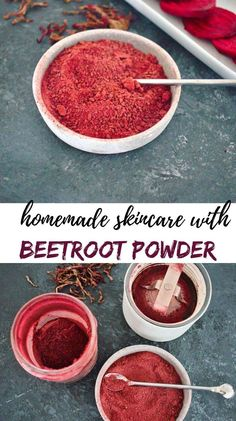 The dark red vegetable, beetroot known also as red beet, table beet, garden beet, or just beet is one of the healthiest and most versatile vegetables we can use in the kitchen. Red Vegetables, Beetroot Powder, Red Beets, Powder Recipe, Natural Lifestyle, Homemade Skin Care, Canning Recipes, Chutney, Preserves