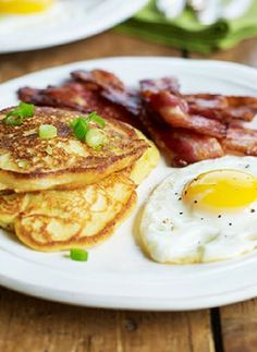 Recipe and Gluten Free Recipe - Potato & chive breakfast pancakes ...